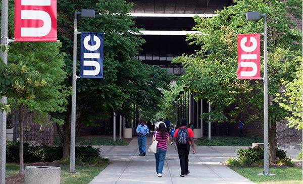 Campus scene