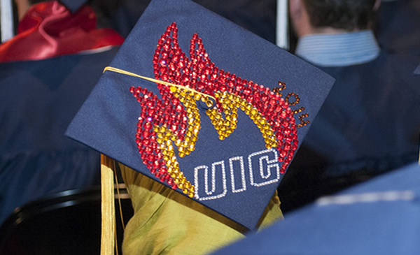 UIC mortarboard